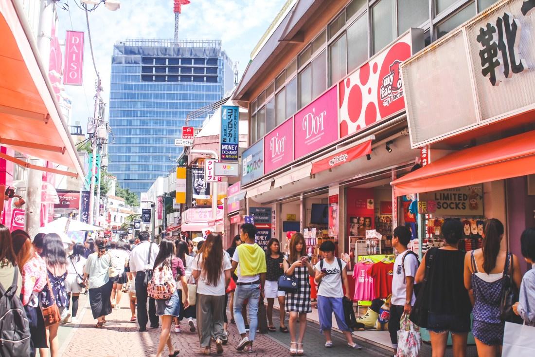 Harajuku's Takeshita Street