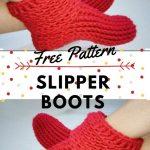 Easy Crochet Slipper Boots Free Pattern Video Tutorial Littlejohn S Yarn
