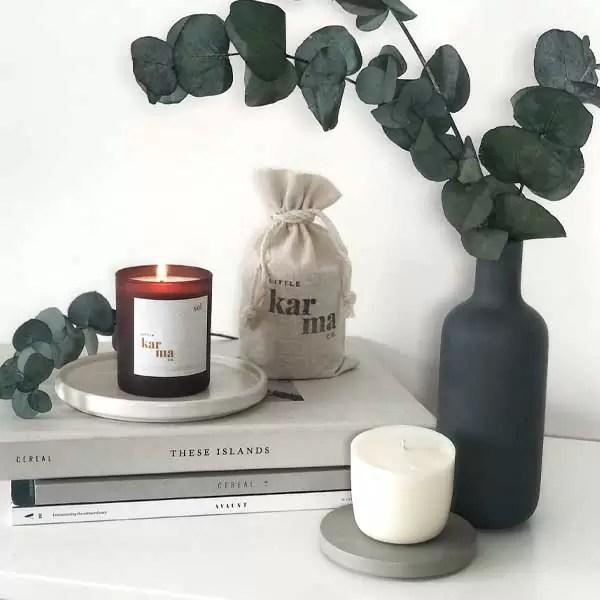 sol | energising eucalyptus + lime midi refillable candle [150g]
