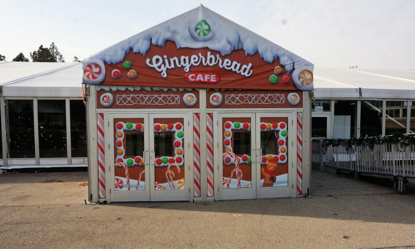 Gingerbread Cafe at the NYBG