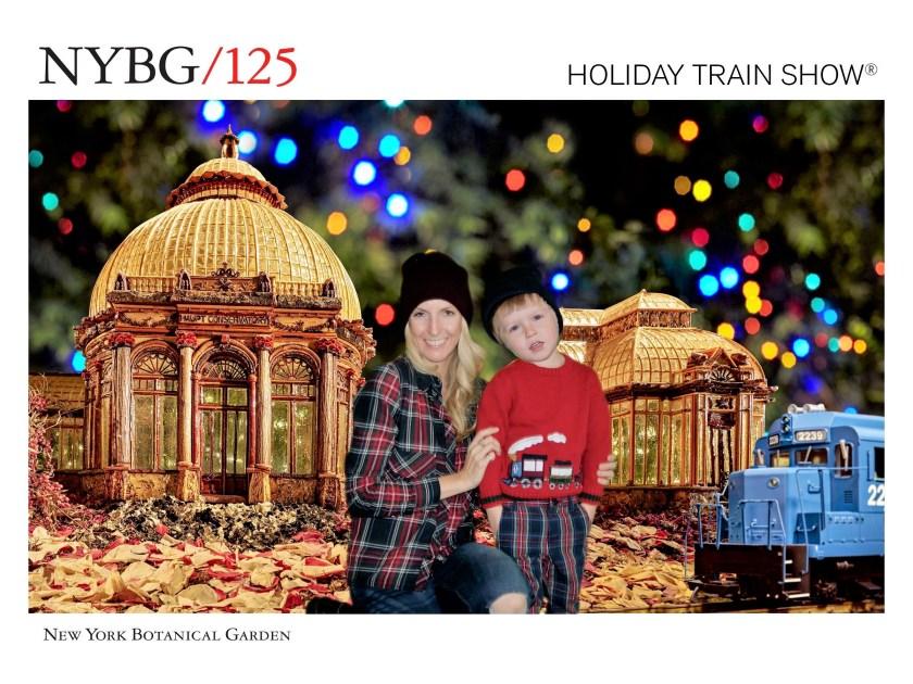 New York Botanical Garden Train Show Photo Opp