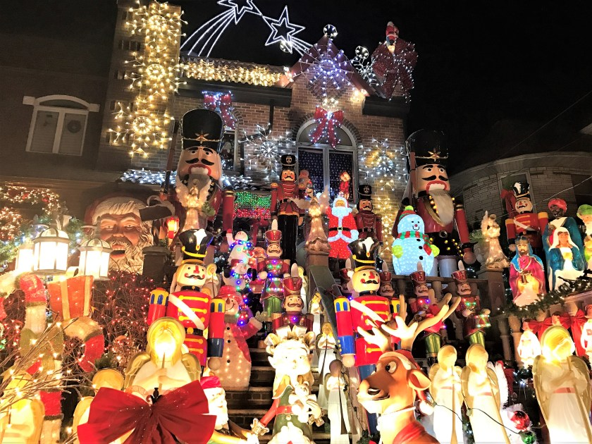 Amazing Christmas Lights in Dyker Heights