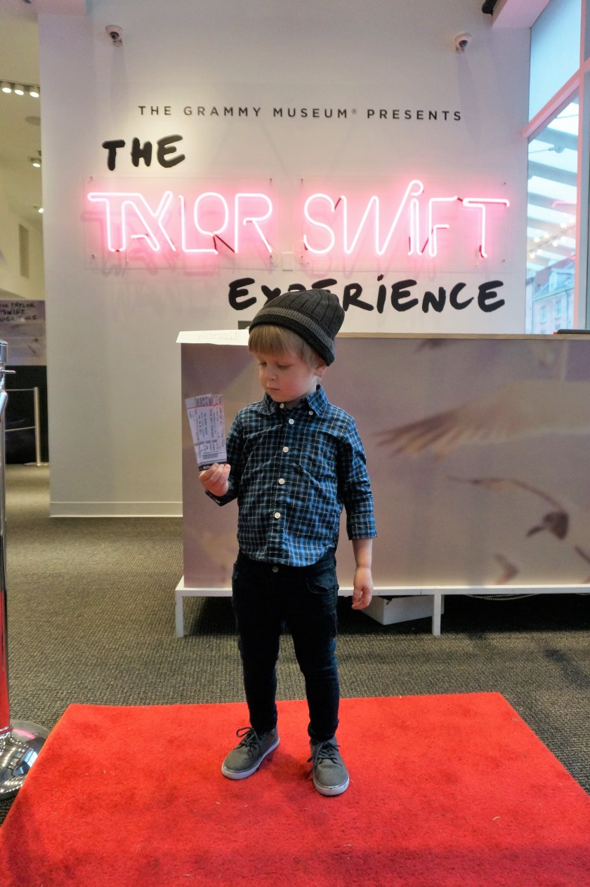 Entering the Taylor Swift Experiece