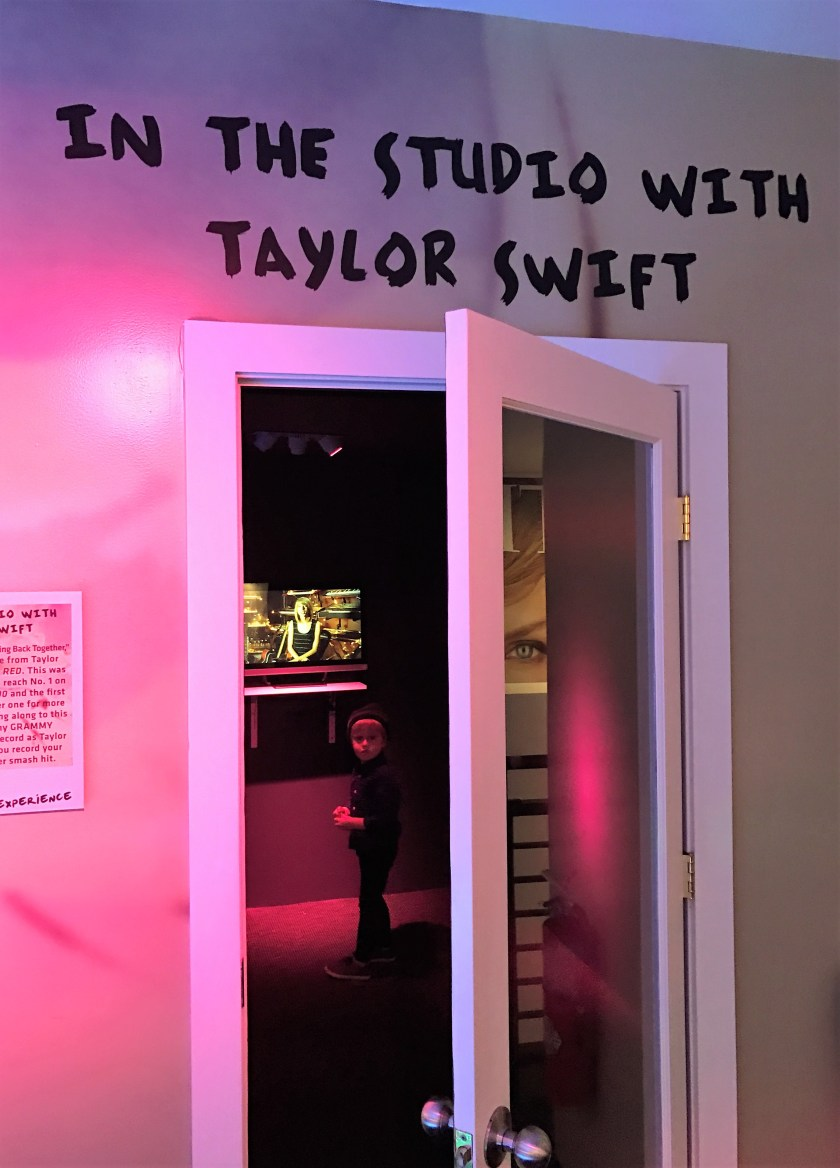 Recording stdio at the Taylor Swift Experience