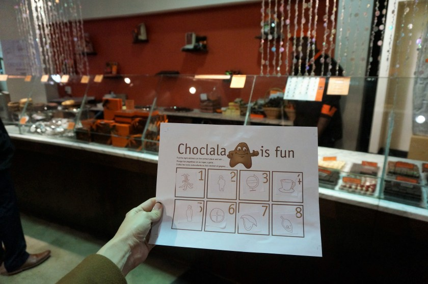 Chocola is Fun Childrens Game at the Choco-Story New York