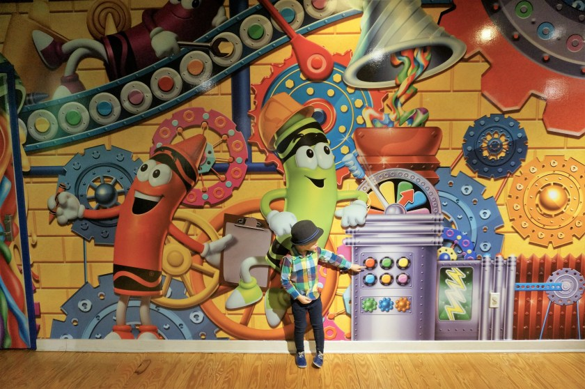 Crayola Experience in Easton - a Colorful World