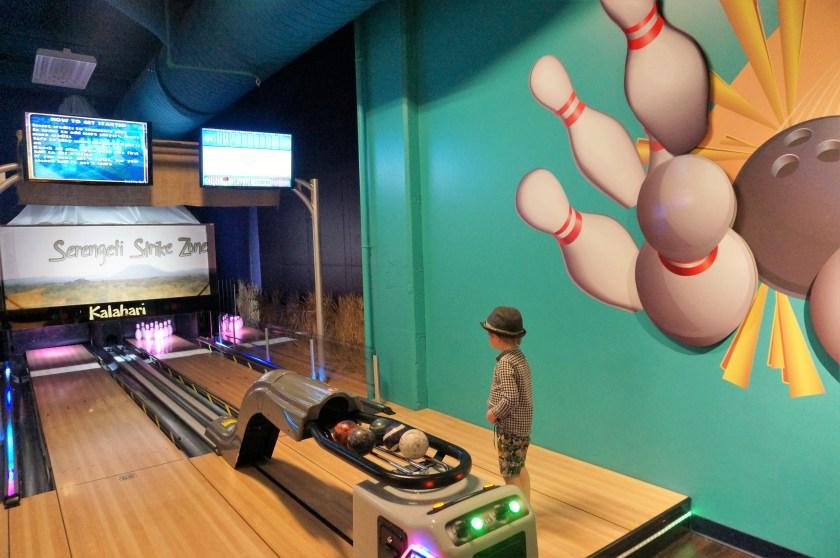 Kalahari Resort Mini Bowling Alley