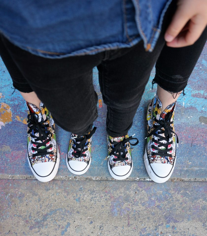 Converse x Looney Tunes Collection Shoes b5a8514011e2
