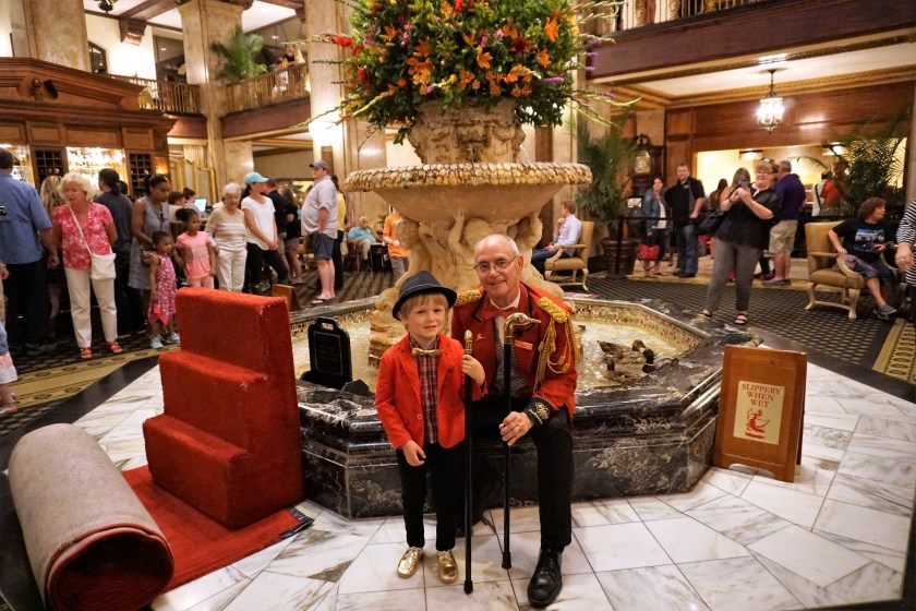 Honorary Duckmaster Experience at the Peabody Memphis