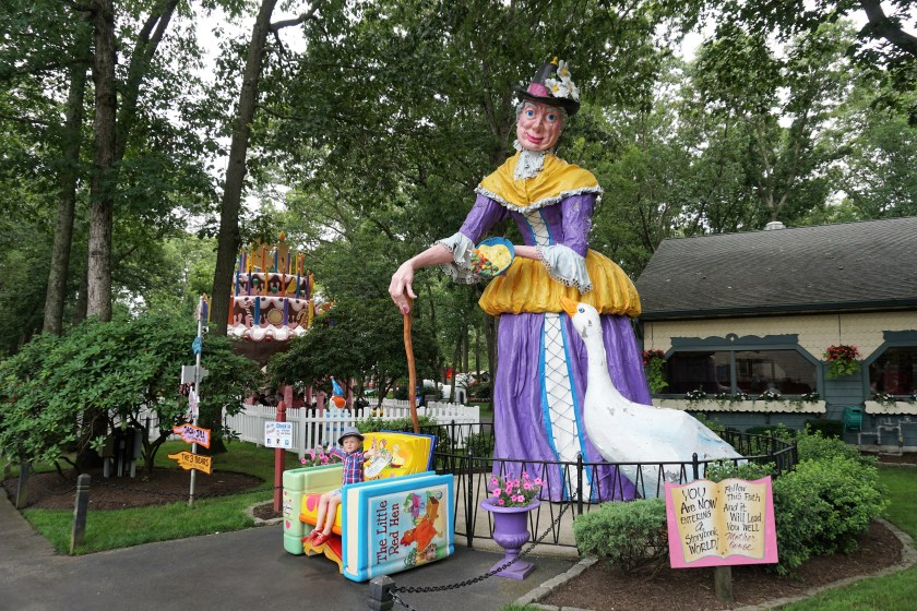 Mother Goose at Storybook Land in New Jersey