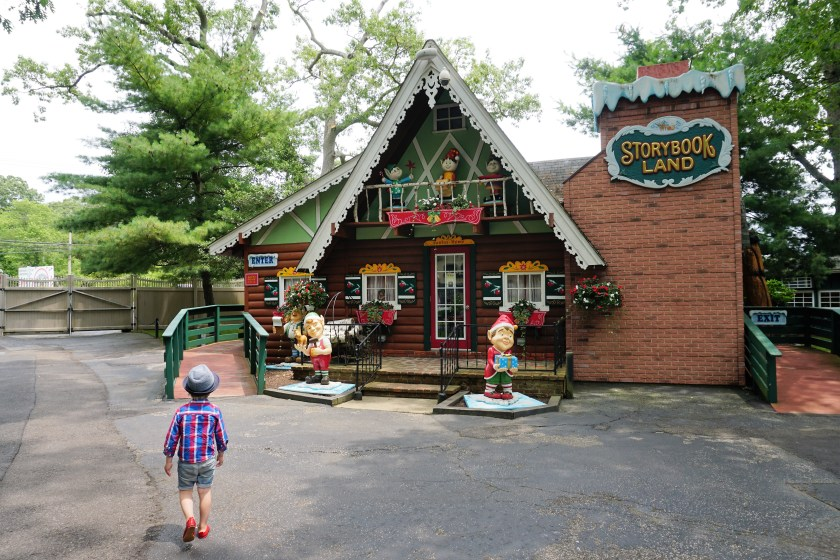 Santa Claus at Storybook Land in New Jersey