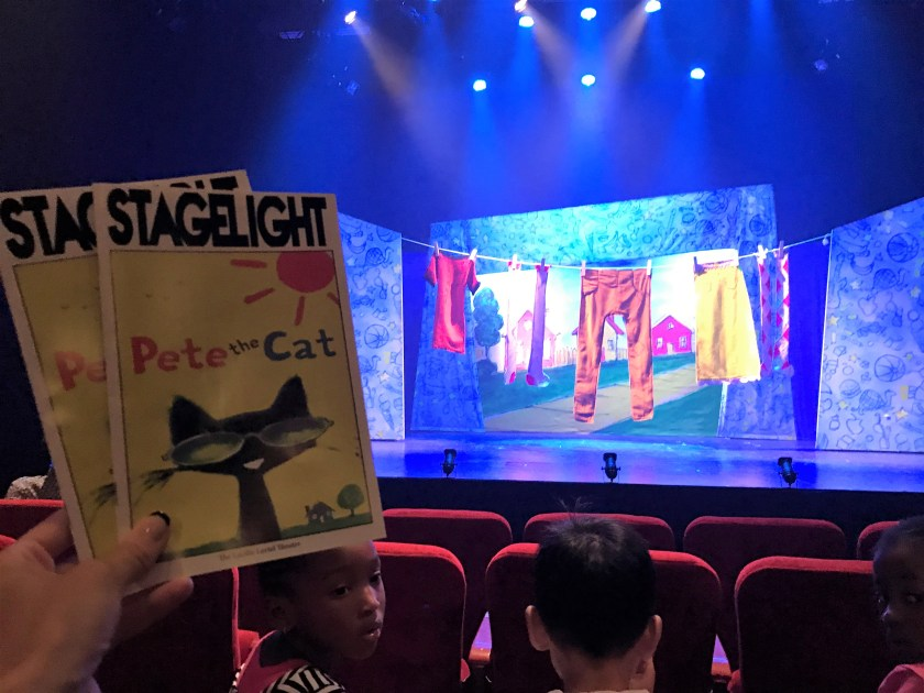 Ready for Showtime at Pete the Cat the musical