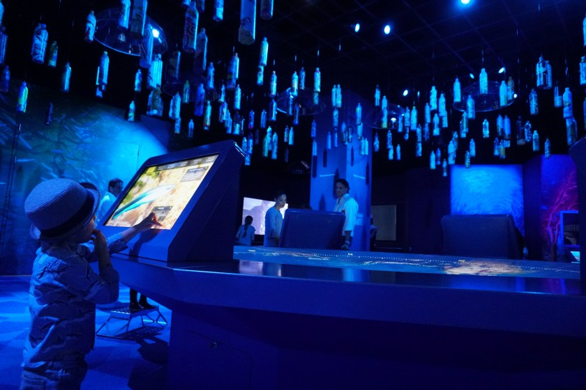 Learning about Ocean friends at National Geographic Encounter Ocean Odyssey