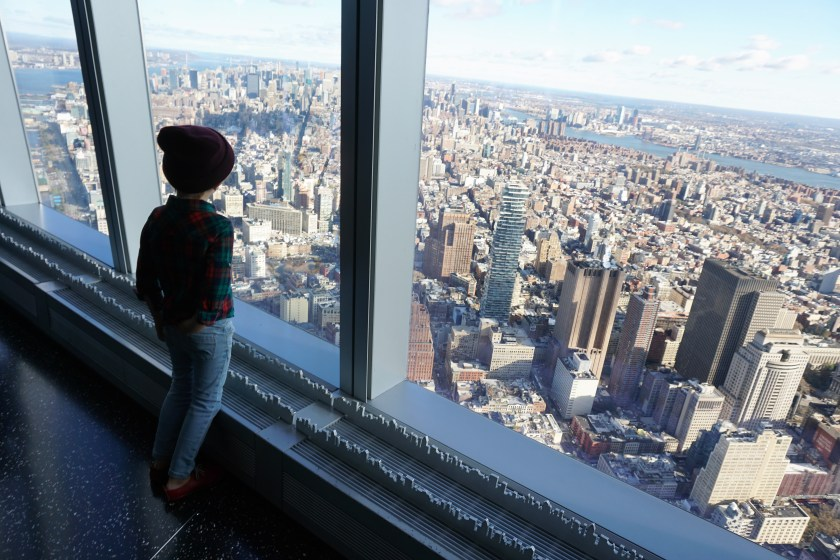 Amazing views at One World Observatory