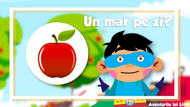 De ce trebuie sa mâncăm un măr pe zi?