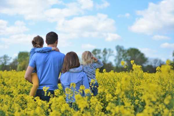 Me and Mine April Rapeseed Fields