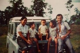 Chef Phet's Family, Laos, 1970s