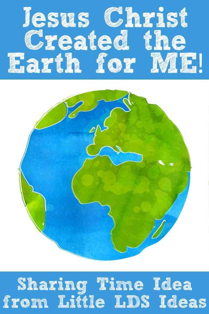 Jesus-Christ-Created-the-Earth-For-Me