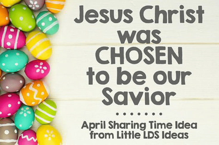 Easter Sharing Time Idea