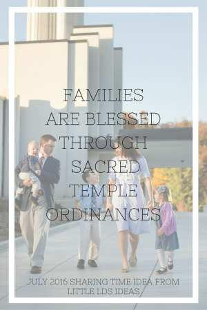 Families are Blessed Through Sacred Temple Ordinances