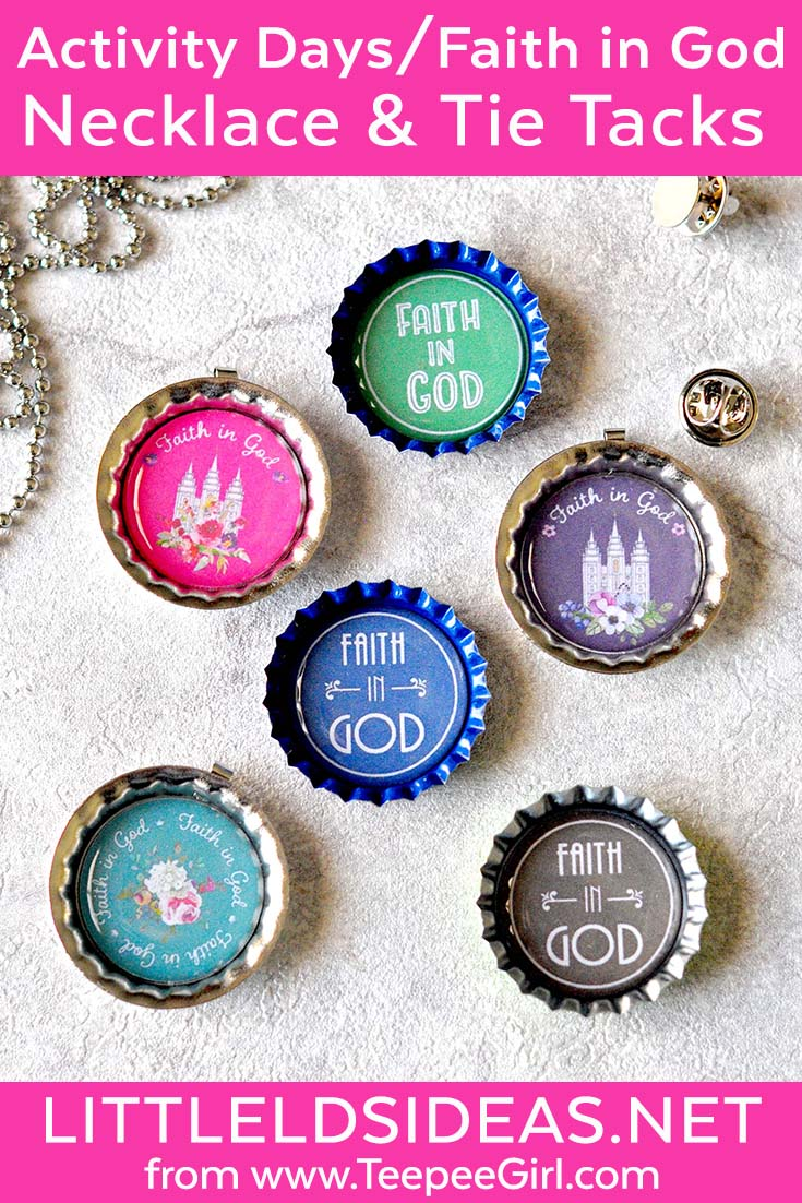 Use these free printables to make Faith in God, Activity Days, or primary gifts! Get the printables and instructions at LittleLDSIdeas.net.