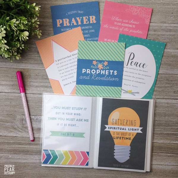 LDS Come Follow Me Prints | Young Women Come Follow Me | Free LDS Printables | Prickly Pear Design Co.