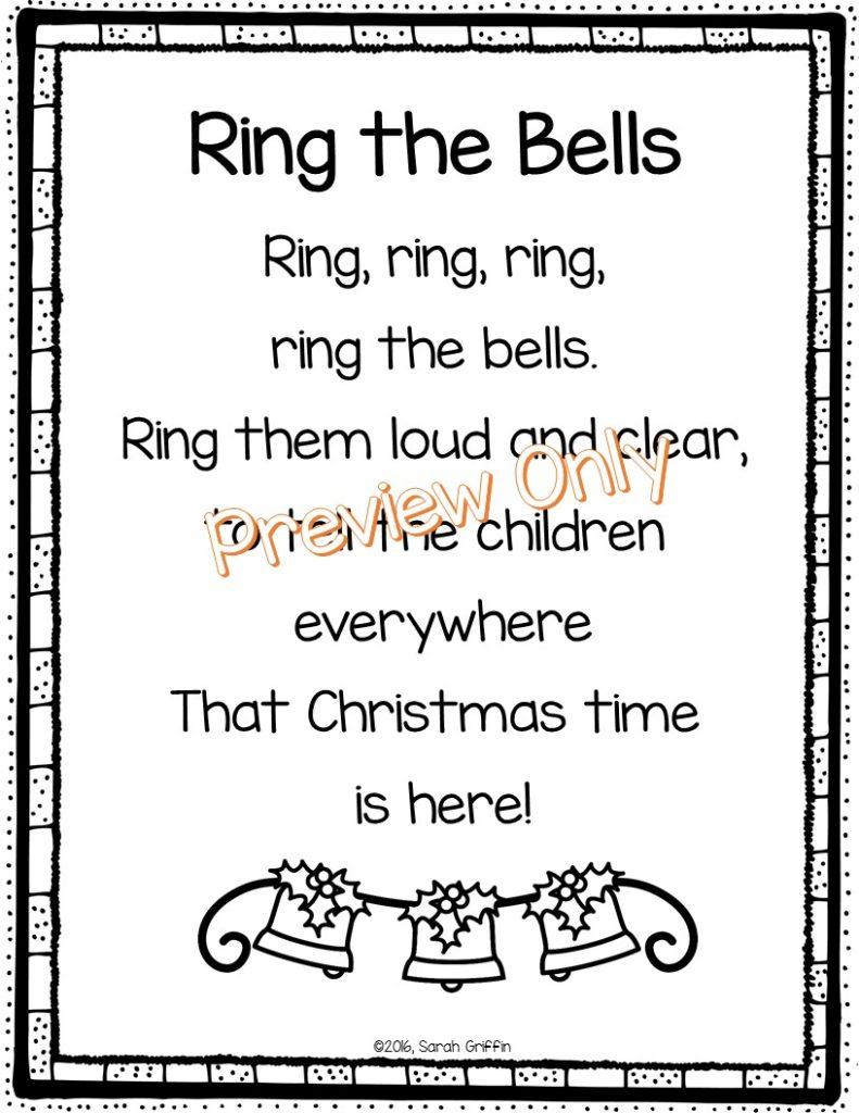 5 Christmas Poems for Kids | Little Learning Corner