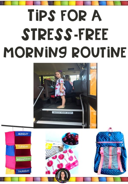 Stress-Free Morning Routines for School | Little Learning Corner