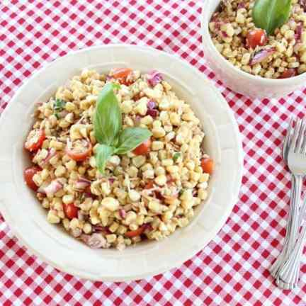 Italian Corn and Tomato Salad