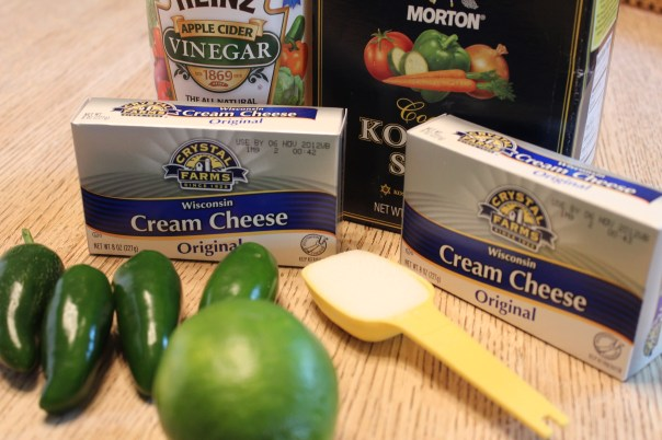 Jalapeno Cream Dipping Sauce Ingredients