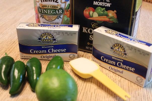 Jalapeno Cream Dipping Sauce Ingredients