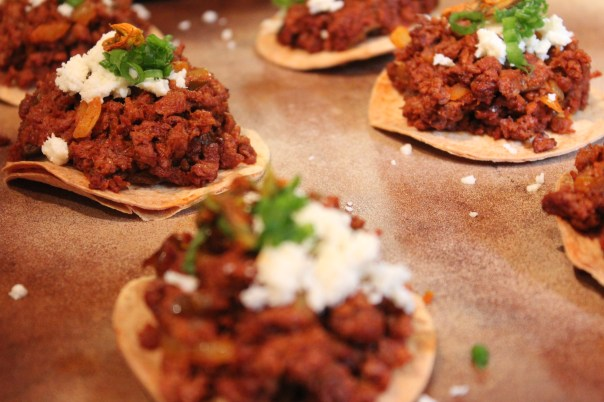 chocolate, bell pepper, how to use, soy chorizo, chorizo, make your own tostadas, chocolate bell peppers,