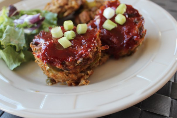 turkey, meatloaf, individual, mini meatloaves, healthy, quick, easy, food, recipes, thanksgiving