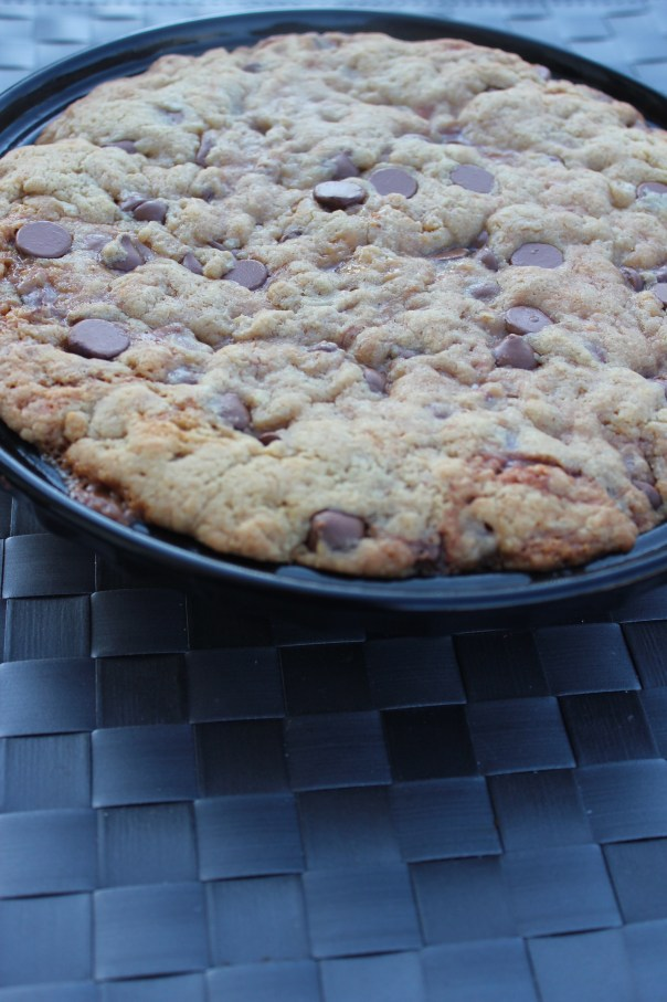 Chocolate Chip Caramelized Pecan Cookie Pie