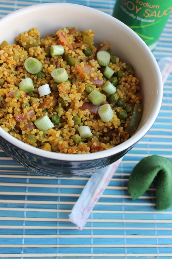 Vegetarian Curry Fried Rice