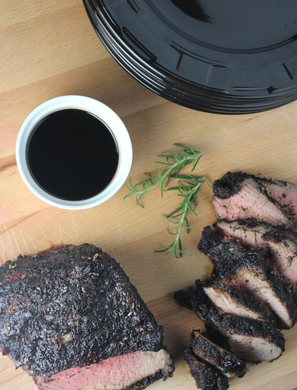 Coffee Crusted Tri Tip