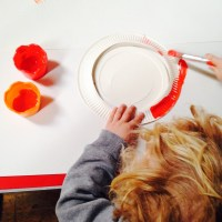 Creative mess-making: pre-school drop-in kids craft at The Arty Space, Lewes
