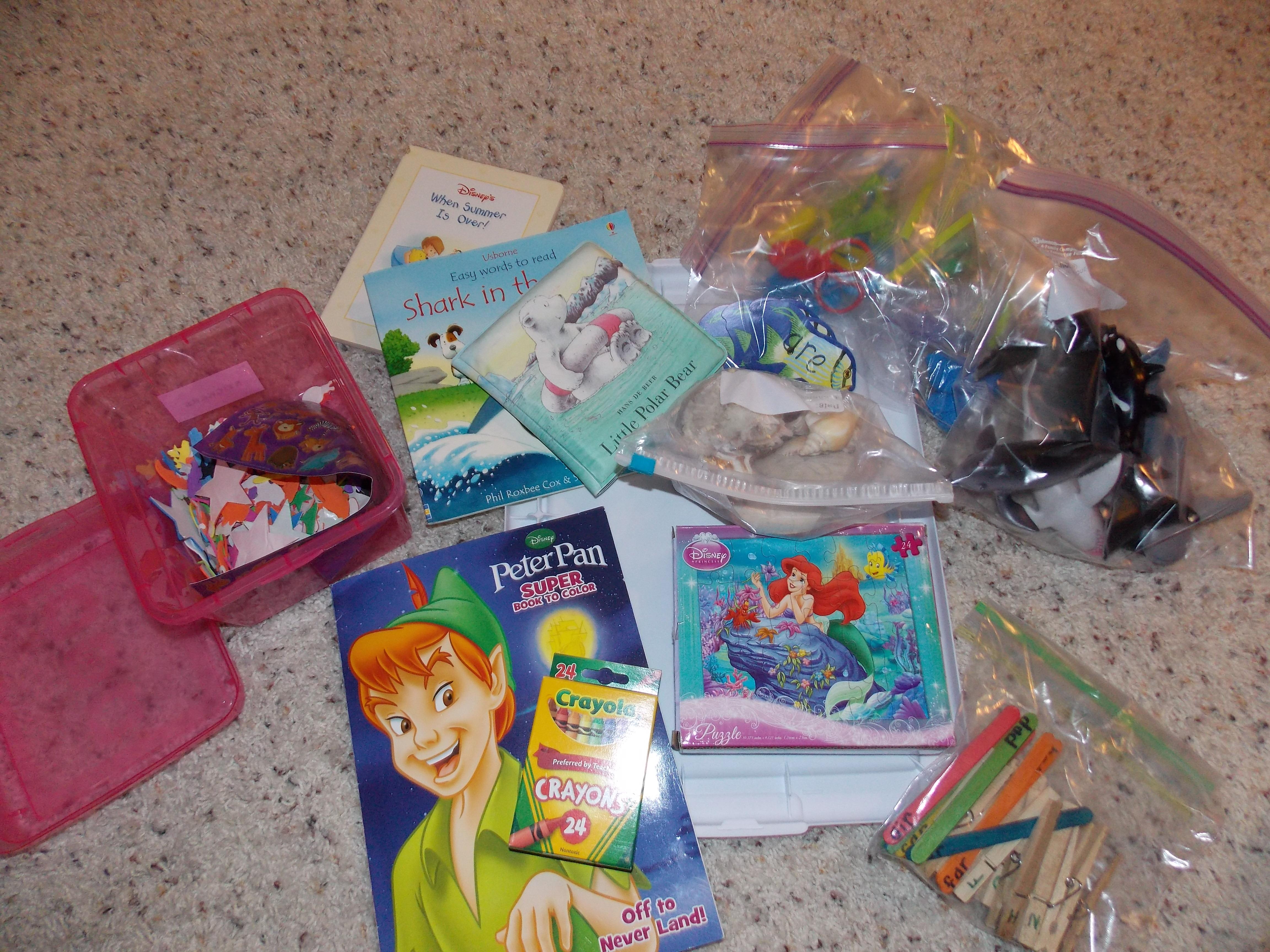 Preschool Activity Boxes