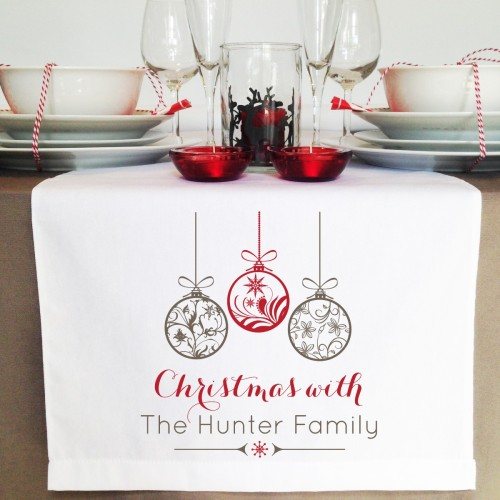 Personalised First Christmas As Mr And Mrs Decoration Married