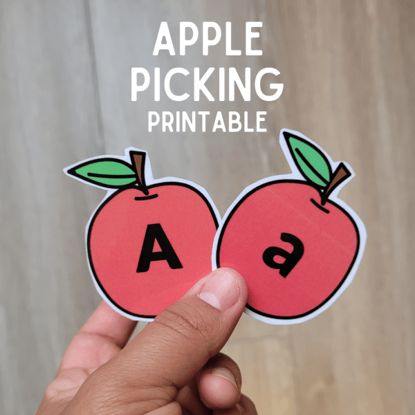 A is for Apple Printable