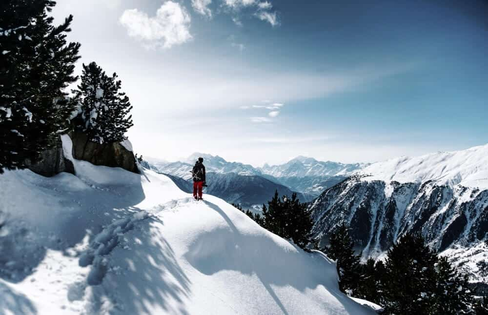 Glacier in Switzerland. A spretty as this is, it's not ideal for a winter mini-break in case you get stranded.
