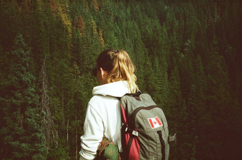 Girl travelling solo with anxiety - taking it easy