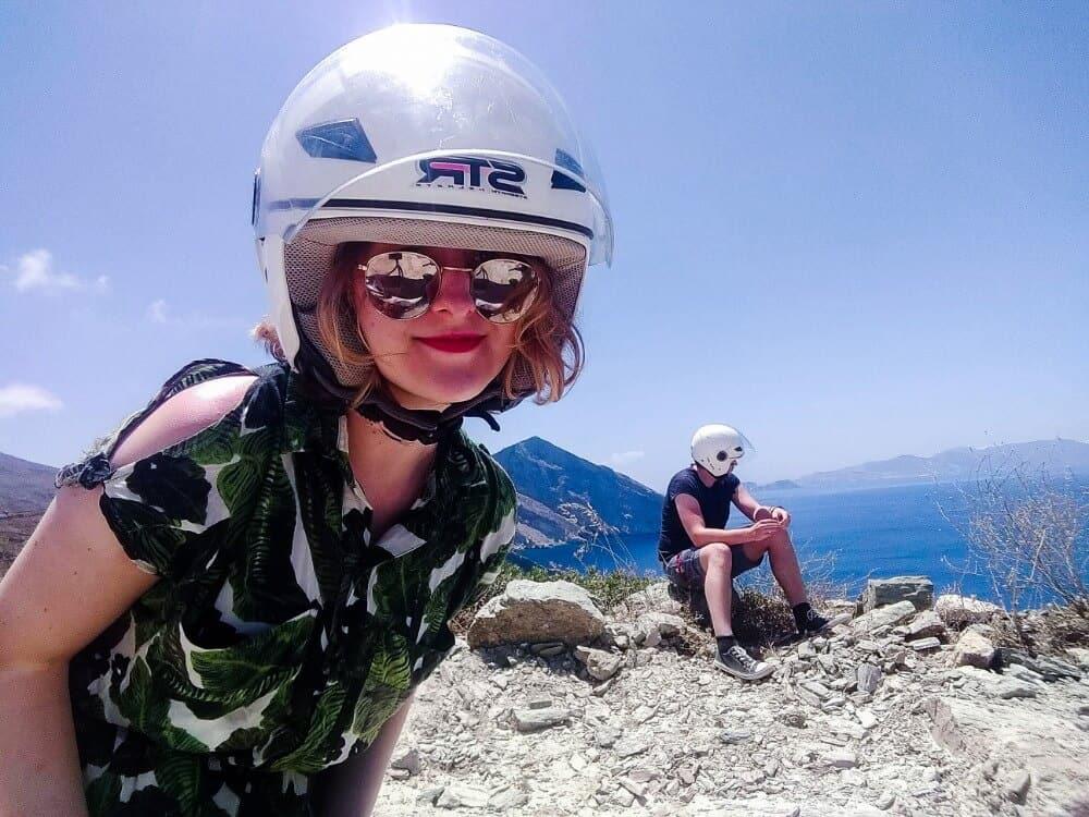 introvert making friends in Greece