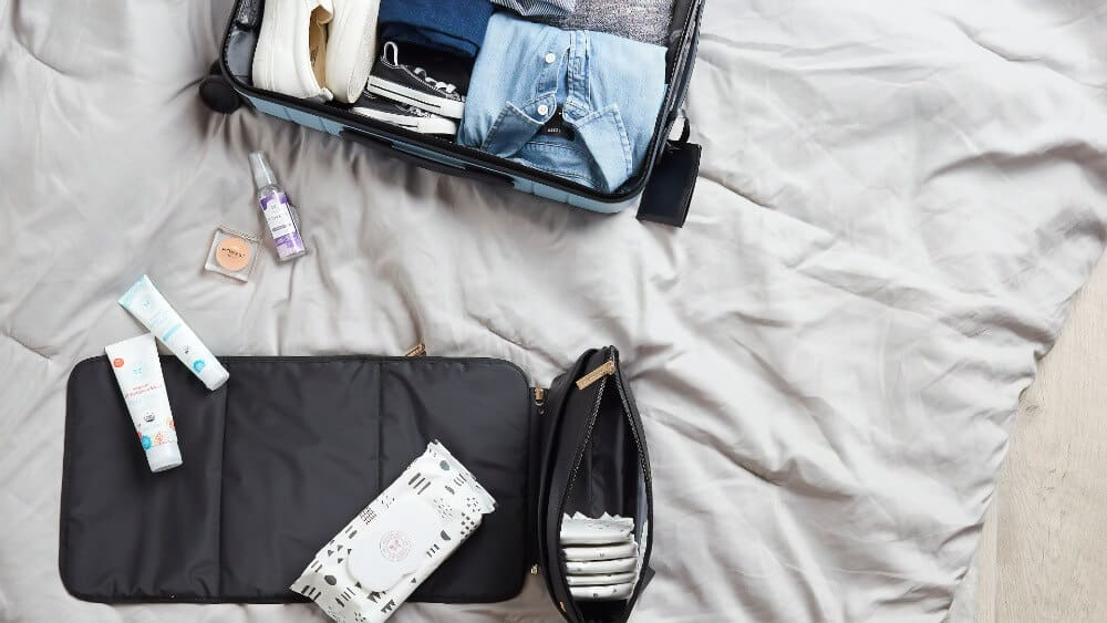 Make a list of your essentials - pack a carry-on