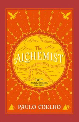 Book cover of The Alchemist for top responsible travel books.