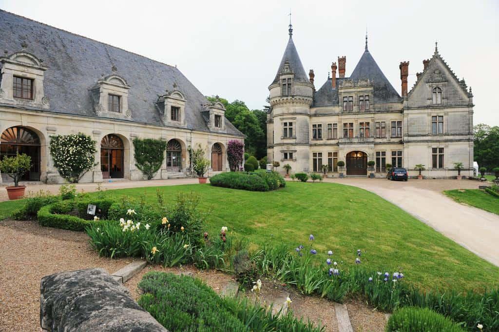 Château de la Bourdaisière exterior.