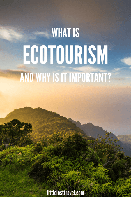 Ecotourism is a form of action-based travel that protects the environment and local communities. It's an antidote for overtourism. Check out our guide to find out why ecotourism is so important, the top ecotourism destinations in the world and why ecotourism is one of the fastest growing sectors in tourism.