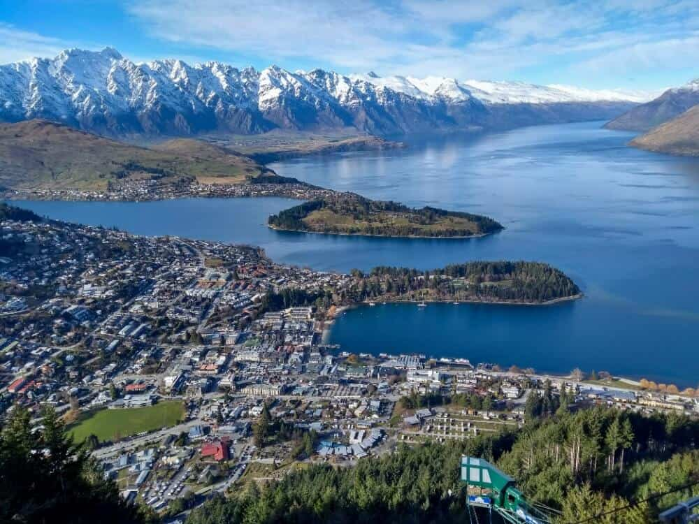 4 day Queenstown itinerary - view from the Skyline