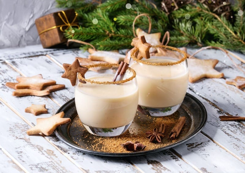 The perfect eggnog cocktail recipes are boozy and creamy