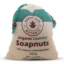 Product image of a bag of soap nuts - one of the best eco-friendly stocking filler ideas.
